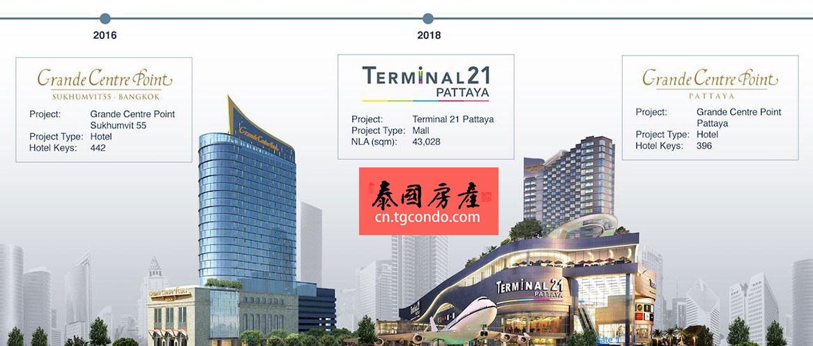 芭堤雅21航站楼 terminal 21 pattaya