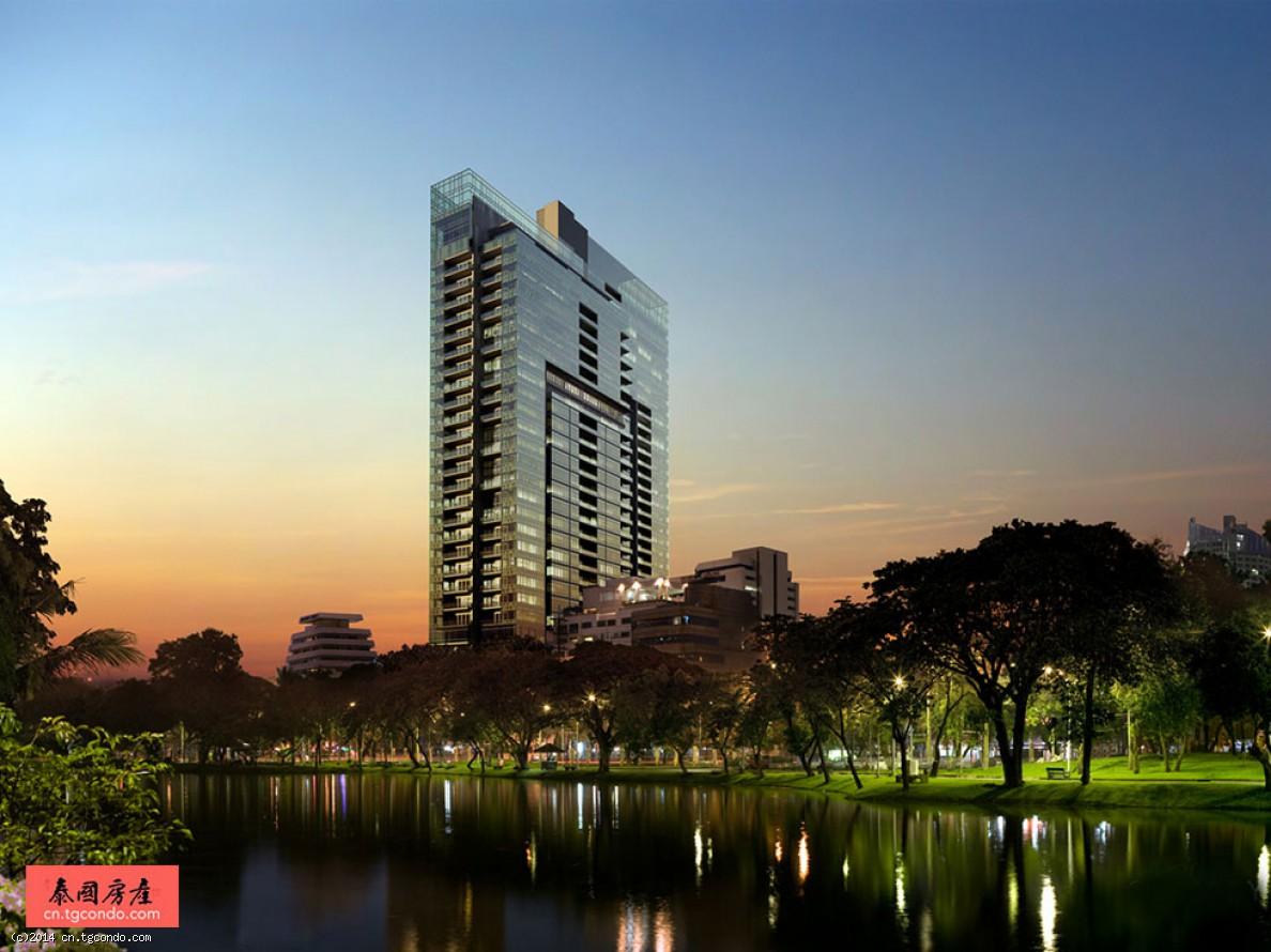 泰国曼谷名宅:轻轨BTS站3房185 Rajadamri