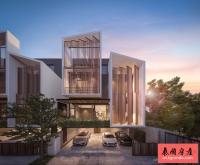 泰国曼谷素坤逸Ekkamai市区高级别墅社区