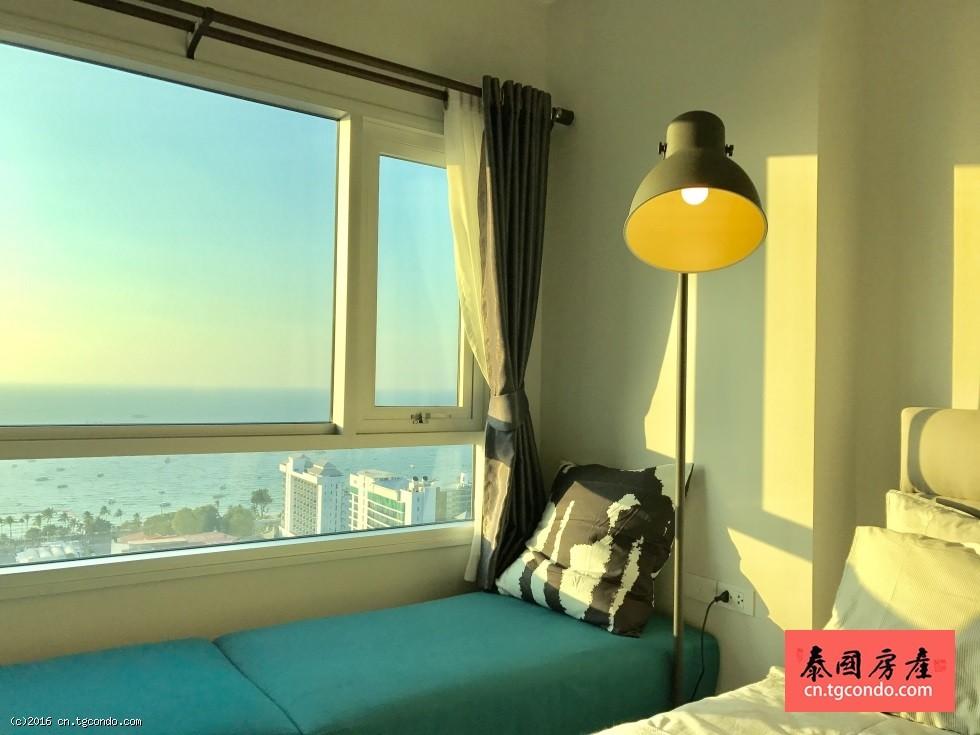 泰国芭提雅中心海Centric Sea稀有正面海景房转售