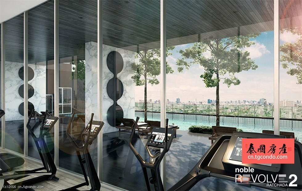 Noble Revolve Ratchada 2 泰国曼谷Rama 9高层期房