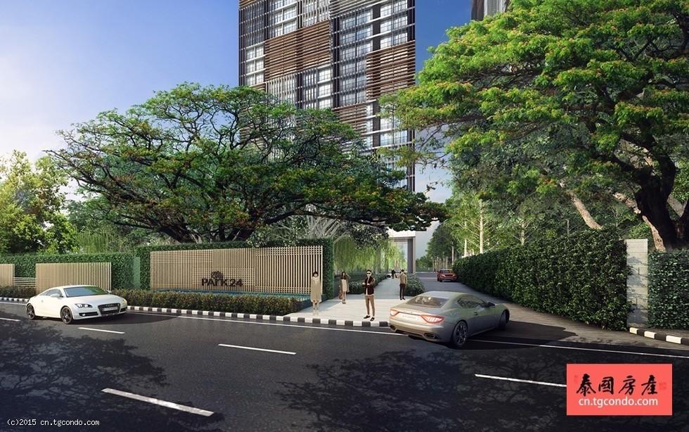 泰国曼谷黄金地段的城市绿洲:Park 24