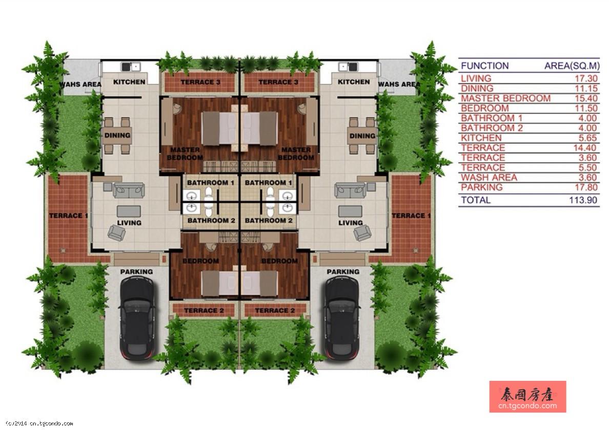 泰国普吉岛带私人泳池别墅出售