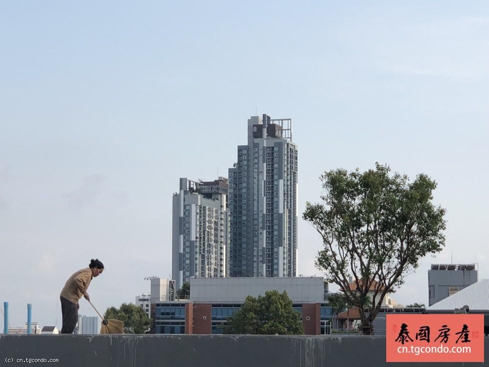 泰国芭提雅海滨路66公寓出售,90平米2房2卫