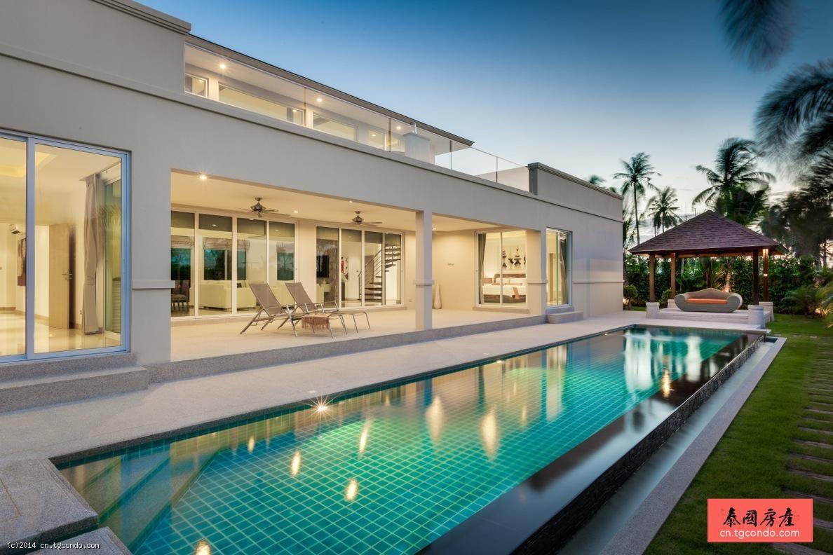 泰国芭提雅葡萄园豪华泳池别墅 Vineyard