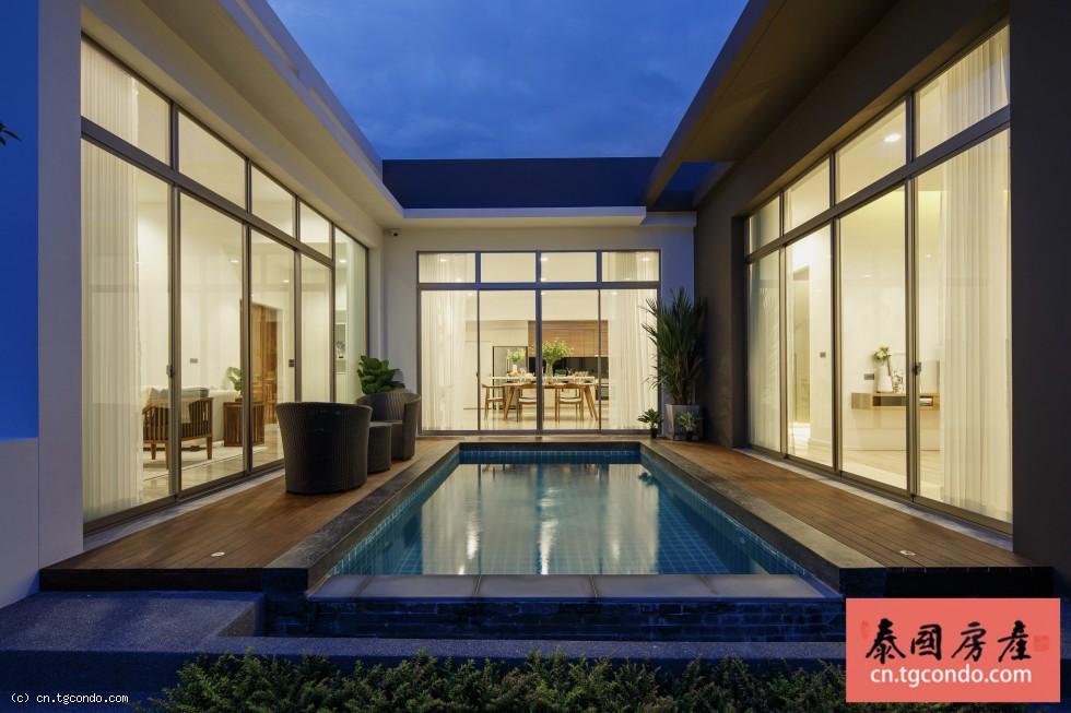 泰国清迈空中花园豪华泳池别墅