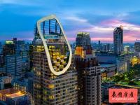 邻近四面佛,泰国曼谷两房两卫豪华公寓出租