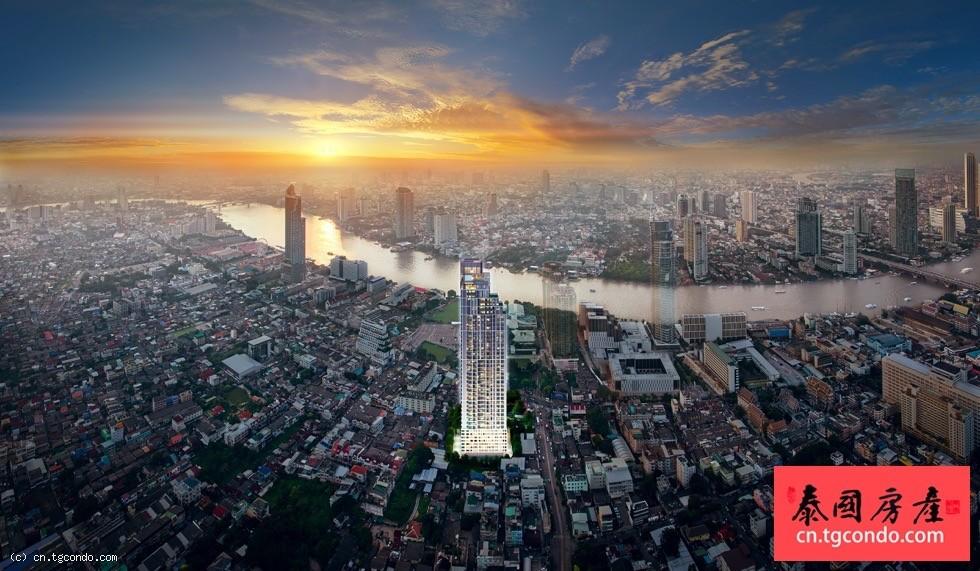 泰国曼谷河景公寓期房Rhythm Charoenkrung Pavillion