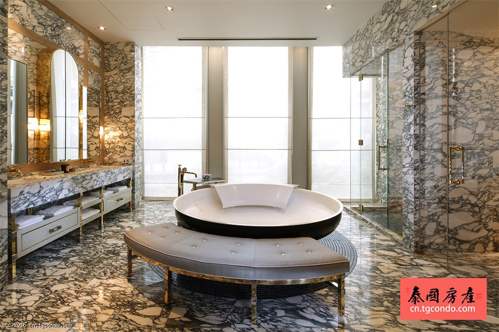 泰国曼谷地标豪宅:丽思卡尔顿酒店公寓 The Ritz-Carlton Residences