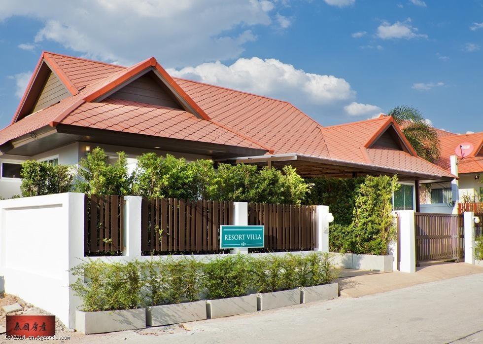 泰国芭提雅泳池别墅 The Ville Jomtien